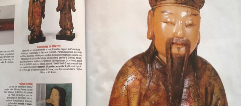 Une paire de sculptures chinoises découvertes sur EmmanuelLayan.com et vendues 11.000 €!
